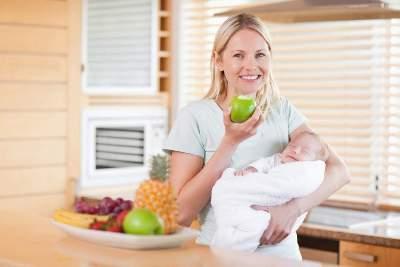 Нормальный послеродовой период, питание после родов